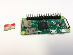 Raspberry Pi Zero and SD Card